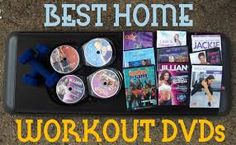 There are many workout DVDs your library may have--Zumba, dance, weights, Yoga…