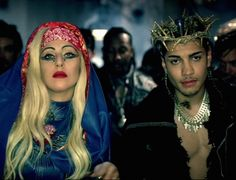 Lady Gaga - Judas - Blue Outfit = best look Judas Lady Gaga, Lady Gaga Gif, Santa Maria, Lady Gaga Dresses, Jesus Christ Superstar, Tumblr, Virgin Mary, Screen Shot, Night Life