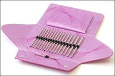 Addi Click Rocket Lace Long Tip Interchangeable Knitting Needle Set