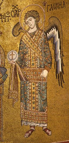 Byzantine Mosaics of Angels from Sicily Byzantine Mosaics, Byzantine Art, Byzantine Icons, Hagia Sophia Istanbul, Ravenna Italy, Fall Of Constantinople, Early Middle Ages, Popular Art, Religious Icons