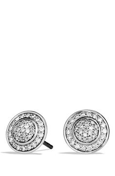 David Yurman 'Cerise' Mini Earrings with Diamonds available at #Nordstrom