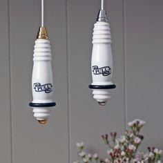 Traditional Ceramic Light Pull (Cistern Pull)