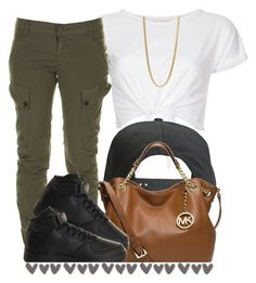 """""""."""" by trillest-queen ❤ liked on Polyvore featuring INC International Concepts, Firetrap, Tavik Swimwear, MICHAEL Michael Kors, NIKE and Marc by Marc Jacobs"""