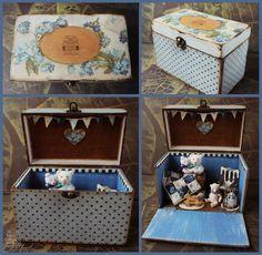 Teddy Bear Room box By Marina Blakytna - Bear Pile