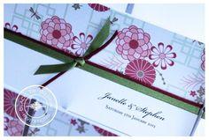 JAPANESE GARDEN Wedding Invitation