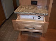 Image result for kitchen charging station ideas