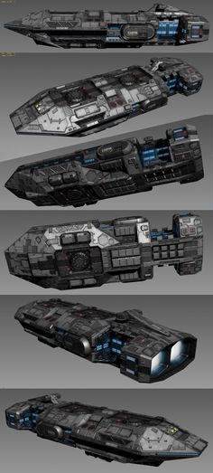 Pike gunship WIP by on DeviantArt Rpg Star Wars, Nave Star Wars, Star Trek, Spaceship Art, Spaceship Design, Concept Ships, Concept Art, Stargate, Millenium