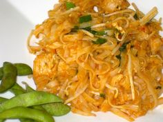 I think this is a great Pad Thai recipe - quick and easy. Its certainly a favourite in our house. I would suggest making a double batch of the sauce, so the dish is even more flavorful. For those with milder tastes, cut back on the red pepper flakes. The recipe as is has quite a bite to it. This isnt a authentic Pad Thai recipe, so if thats what you are looking for, then this may not be it.