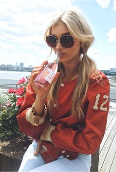 Elsa Hosk's pigtails | 35 cute summer hairstyles from models and IT Girls | 2017