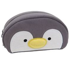 cute penguin face animal pencil case from Japan 1