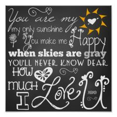 you are my sunshine - Google Search