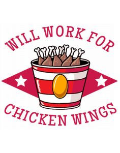 Will work for chicken wings