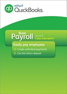 Intuit QuickBooks payroll support come with advanced features ...