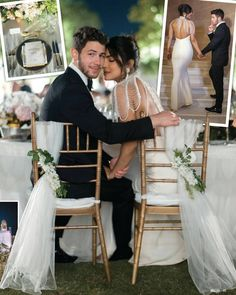 Nick Jonas And Priyanka Chopra Wedding Photos Wedding Poses, Wedding Photoshoot, Wedding Couples, Wedding Reception, Priyanka Chopra Wedding, White Wedding Gowns, Engagement Celebration, Bollywood Wedding, Love Is In The Air