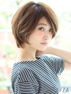 short haircut #Japanese #hairstyle