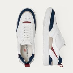 Sustainable vegan sneakers for a Navy Look. Get the stripes and more inspo looks on FashionHunters. Vegan Sneakers, Sneakers Nike, Sneaker Games, Highlights, Footwear, Stripes, Mens Fashion, Unisex, Navy