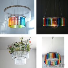 lamps from vials