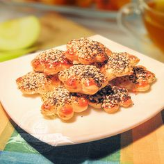 Jaśki makowo-sezamowe   Świat Ciasta