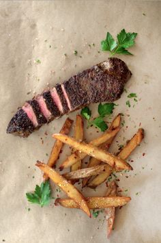steak + fries
