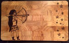 I like the hair better all filled in. #pyro #pyrography #art #sandiego #sandiegoart #create #arrow #rustic #boat #stars #archery #arrowhead  #dream #design #homedecor #inspire #kitchen #kitchendecor #boho #bohoart #rawartists #sketch #woodart #woodburn #woodwork #cooking #wineandcheese #charcuterie #doodle #hobby de burnedoutdesigns