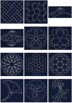 Japanese Embroidery Books In English Free Sashiko Machine Embroidery Designs Embroidery Designs, Hand Embroidery Patterns, Embroidery Thread, Quilting Designs, Machine Embroidery, Viking Embroidery, Embroidery Supplies, Art Patterns, Embroidery Jewelry
