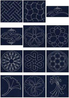 Sashiko www.designsinstitches.com
