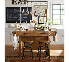 Pottery Barn- kitchen decorating