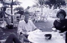 Jack and Jackie Kennedy in Jamaica, 1955