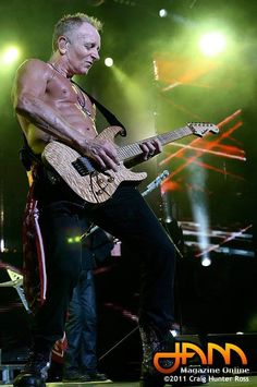 dl Phil Collen, Def Leppard, Great Bands, Punk, Concert, Style, Fashion, Swag, Moda