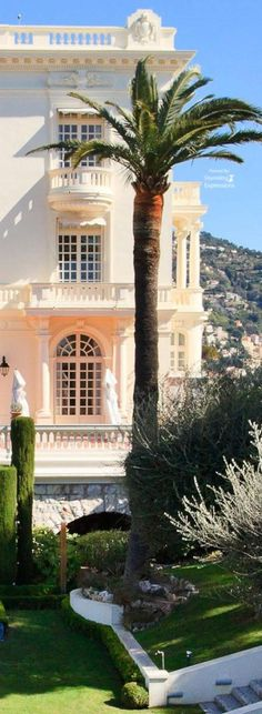 The Galanti mansion. in Monaco. Provence, Let Tour, France, Island Resort, Vacation Pictures, French Riviera, Monte Carlo, Travel Around The World, Places To See