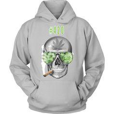 #420 Weed Hoodie