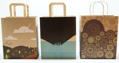 Sendbag by Multipack Sentra Perkasa is a attractive mailing package that can be repurposed as a handle shopping bag!
