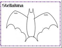 Stellaluna Book Unit, Bundle of Stellaluna Activities Halloween ...