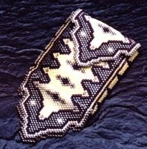 Tapestry in Yellow Amulet Purse Pattern
