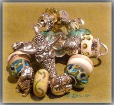 Fantastic bull totem lock By Deborah Taylor