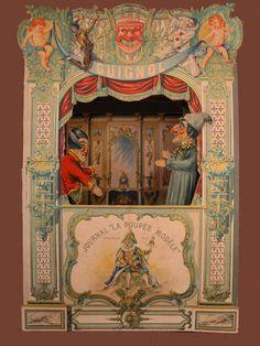 TEATRES DE PAPER: Teatre Guignol de la Poupèe Modelè [F] ca.1885