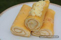 Zlatne palacinke sa kremom od bele cokolade — Coolinarika