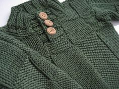 A stylish sweater for your favorite little boy, inspired by Beau by Kim Hargreaves from Rowan Vintage Knits.