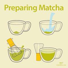 Prepare matcha