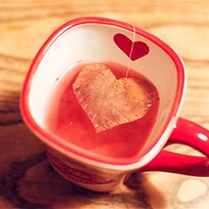 You're My Cup of Tea: DIY Heart-Shaped Tea Bags