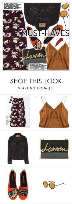 """Must haves"" by teoecar ❤ liked on Polyvore featuring Balenciaga, Lanvin, Kenzo and By Terry"