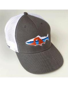 Kast gear bucket list trucker hat fishwest fly fishing for Fly fishing trucker hat