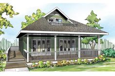 Cape Cod Contemporary Cottage Country Craftsman House Plan 60953