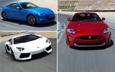 Subaru BRZ, Lamborghini Aventador, Jaguar XKR-S: 2012 Best Driver's Car Contenders - Motor Trend