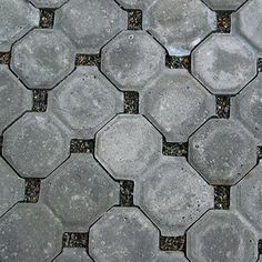Pervious pavers - not sure where this photo is from. Had in Evernote from google reader days.