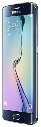 Samsung Galaxy S6 Edge Smartphone (5.1 Zoll Touch-Display, 32 GB Speicher, Android 5.0) schwarz