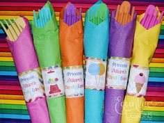 Candyland Collection  Printable Napkin by EccentricDesignsbyLH, $9.25