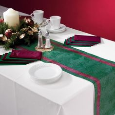 formal table runners and mats - Google Search