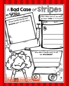 Classroom Freebies Too: A Bad Case of Stripes