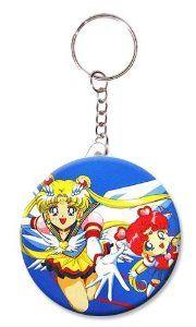 Sailor Moon and Chibiusa Usagi Key Chain,Key Ring